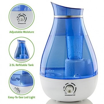 Ovente Ultrasonic Cool Mist Humidifier