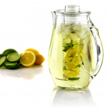 Ovente Infused Water Pitcher with Stirring Rod 2.5 Liter (PIA0852C)