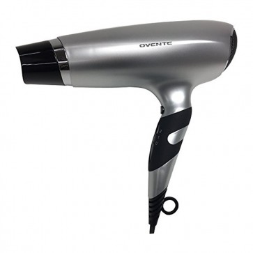 Ovente Ionic Tourmaline Handheld Hair Dryer Silver (X2110S)