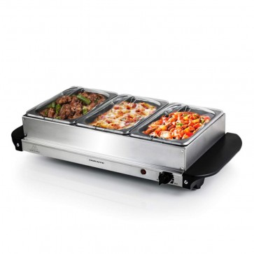 3-in-1 Stainless Steel Food Warmer