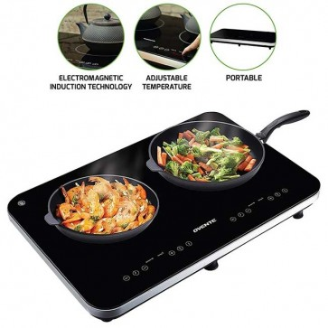 Double Induction Countertop Burner