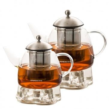 Ovente Glass Teapot, 44-61 oz