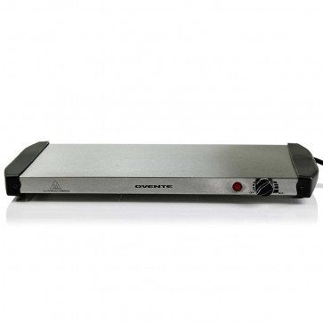 Ovente Stainless Steel Electric Warming Tray