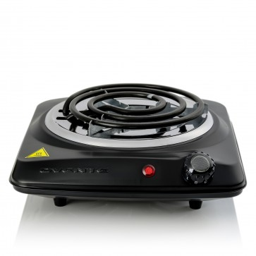 Countertop Electric Single Burner with Adjustable Temperature Control