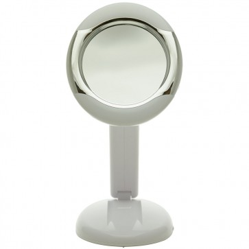 Ovente Lighted Small Vanity Magnifying Mirror 7.5 Inches (MLT23W)