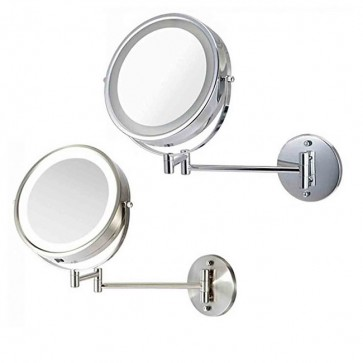 Ovente Wall-Mounted Vanity Mirror with Lights 7 Inches (MFW70 Series)