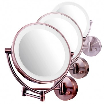 Ovente Wall-Mounted Vanity Mirror with Dimmable Lights 9.5 Inches (MLW45 Series)