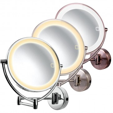 Ovente Wall-mounted 3 Tone LED Vanity Mirror 9.5 Inches (MLW95 Series)