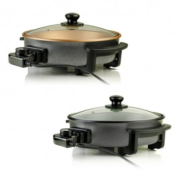 Ovente Electric Skillet with Non-Stick Aluminum Body