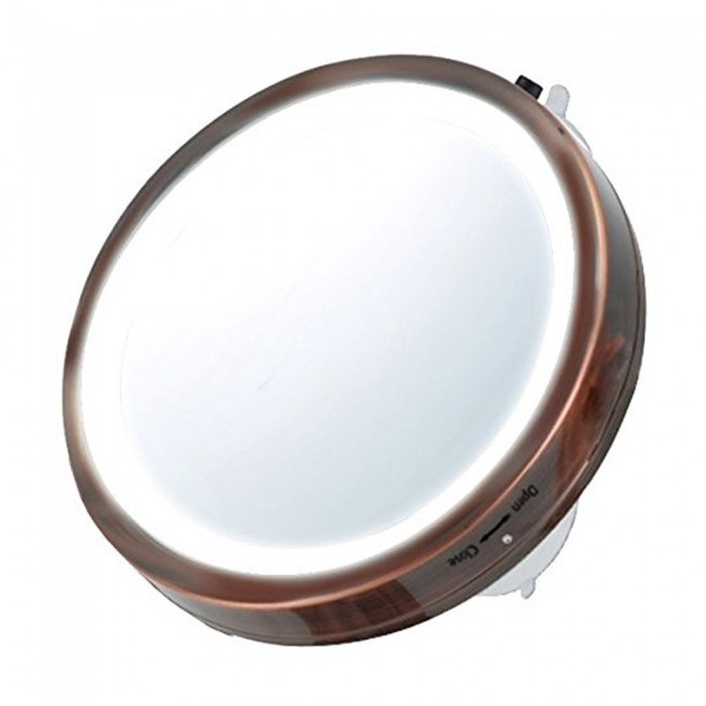 Travel Size Lighted Vanity Mirror 6 Inches Mli25 Ovente Us