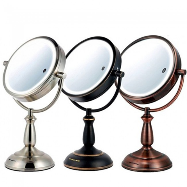 Ovente Tabletop Vanity Mirror Smart Touch 3-Tone 7 5 Inches (MPT75 Series)