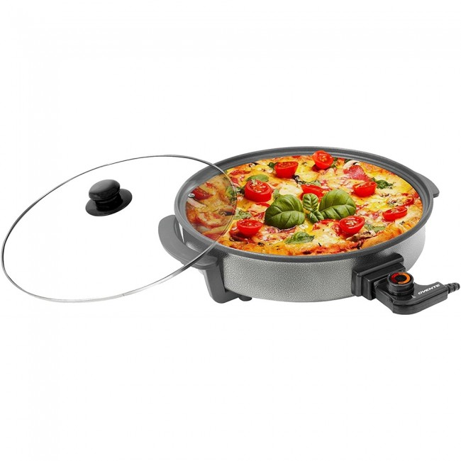 Ovente Food Warmer ~ Ovente round electric frying pan skillet granite with