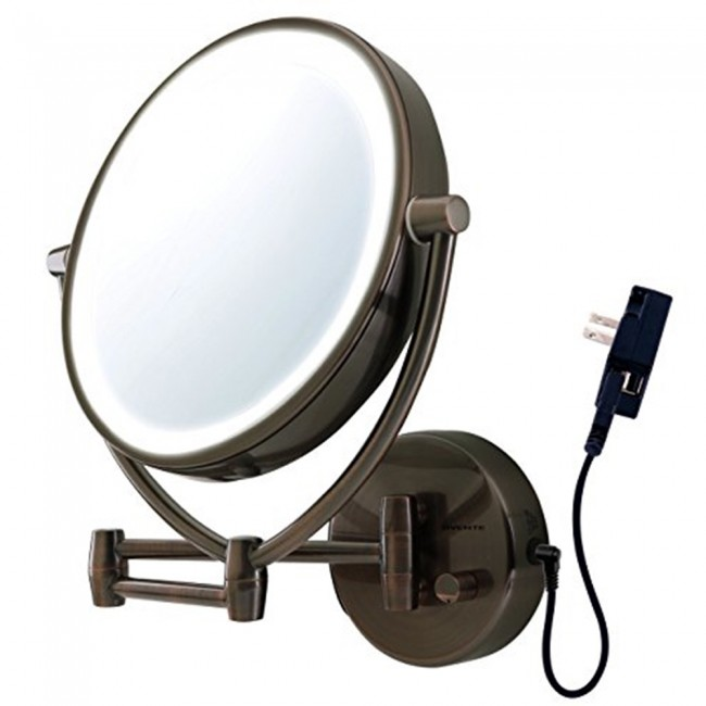 Wall Mounted Vanity Mirror 9 5 Inches Mlw45 Ovente Us
