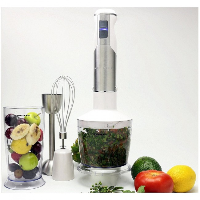 Ovente Food Warmer ~ Ovente immersion hand blender set black or white hs