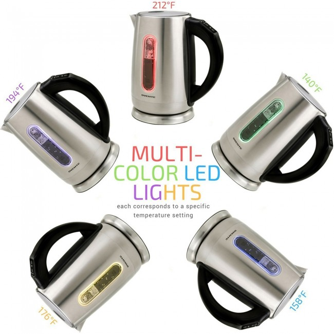 Ovente Food Warmer ~ Electric kettle stainless steel l bpa free ks ovente us