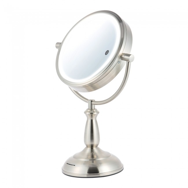 Ovente MPT75BR1x5x SmartTouch 7.5 inch Three Tone LED Makeup Mirror, Tabletop  Vanity Mirror, 1x - Tabletop Vanity Mirror Light Switch MPT75 7.5 Inches Ovente US