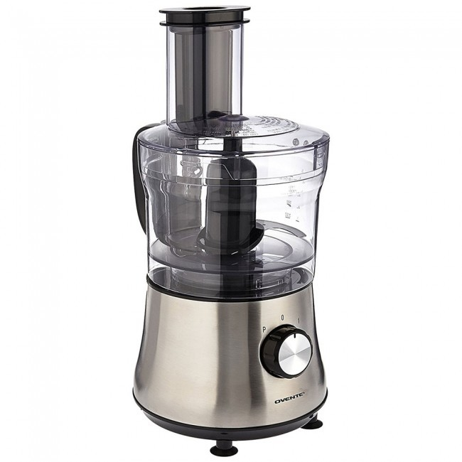 Ovente Food Warmer ~ Food processor with blender cup brushed pf s