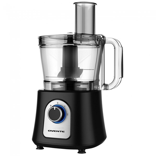 Ovente Food Warmer ~ Food processor with blender cup black pf b ovente us