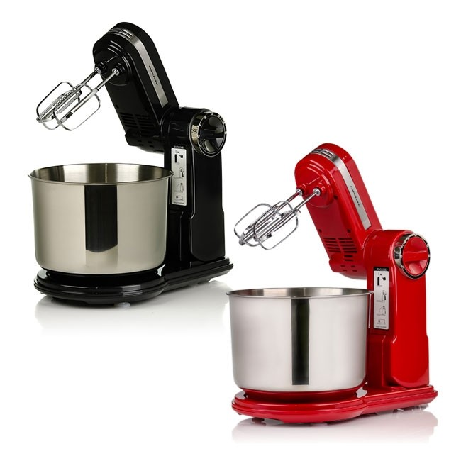 Ovente Professional Stand Mixer with 3.7 Quart Stainless Steel Mixing Bowl  (SM890 Series)