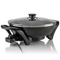 Electric Skillet Frying Pan 13 Inches Sk3113b Ovente Us
