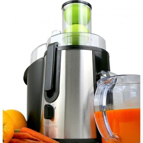 Ovente Wide Mouth Cold Press Juicer (JE7607BR)