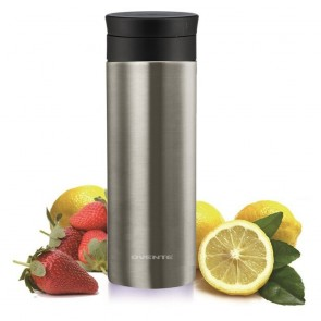 Ovente Travel Mug Thermos with Flavor Infuser Silver (MSA12S)