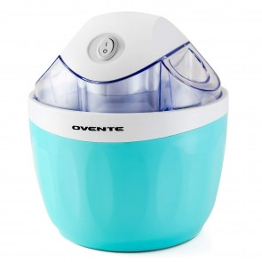 Ovente Electric Ice Cream Maker - Also Makes Sorbet and Frozen Yogurt (ICM110BL)
