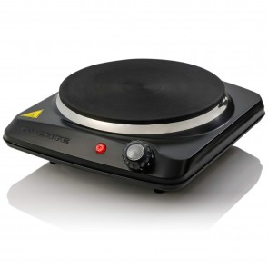 Countertop Electric Cast-Iron Burner with Adjustable Temperature Control