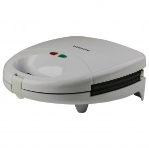 Ovente Sandwich Maker with Non-Stick Waffle Grill Plates (GPI202W)