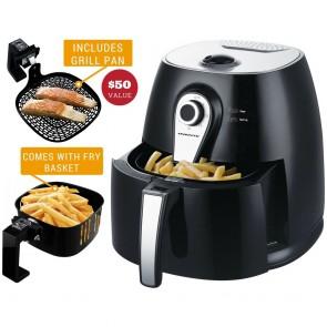 Ovente Air Fryer 3.2 Qt Black (FAM21302B)