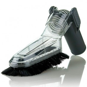 Ovente Universal Multi-Angle Brush Vacuum Attachment for Canister Vacuum (ACPST2675)