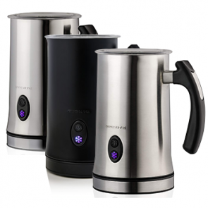 Ovente Electric Frother, Milk Steamer, Foam Maker for Coffee