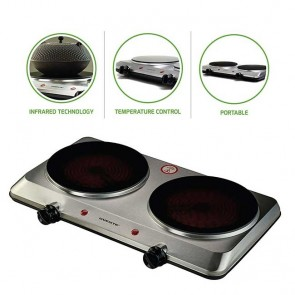 Double Countertop Infrared Burner