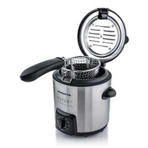 Ovente Stainless Steel Deep Fryer 0.9 Liter