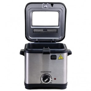 Ovente Stainless Steel Deep Fryer 1.5 Liter