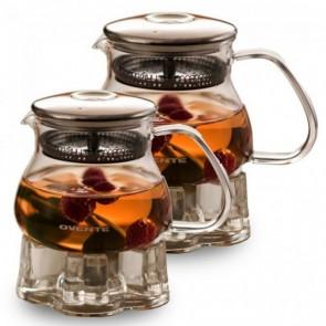 Ovente Glass Teapot, 17-27 oz