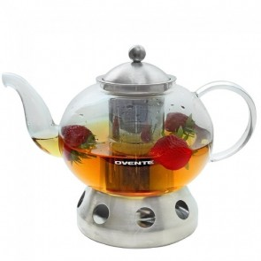 Ovente Glass Teapot 51 oz