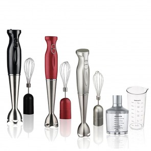 Ovente Immersion Hand Blender Set, 2 Speed (HS585 Series)
