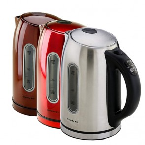 Stainless Steel Electric Kettle BPA-Free 1.7L
