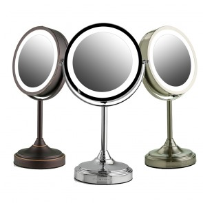 Ovente Tabletop Vanity Mirror with Lights 6 Inches (MCT70 Series)