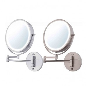 Ovente Wall-Mounted Vanity Mirror with Lights 8.5 Inches (MFW85 Series)