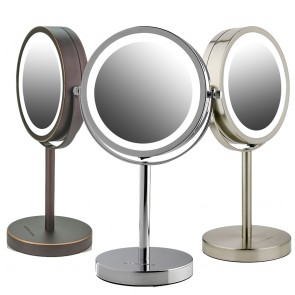 Ovente Tabletop Vanity Mirror with Lights 6 Inches (MLT60 Series)