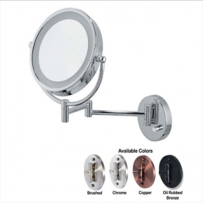 Ovente Wall-Mounted Vanity Mirror with Lights 8.5 Inches (MPWD3185 Series)