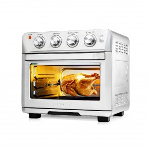 Ovente Multi-Function Air Fryer Rotisserie Oven (OFM2025BR)