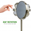 Ovente Tabletop Makeup Mirror, 6 Inch, Dual-Sided 1x/7x Magnification