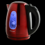 Red Ovente Stainless Steel Electric Kettle BPA-Free 1.7L