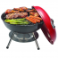 Ovente Portable Charcoal Grill with Dual-Venting System (GQR0400BR)